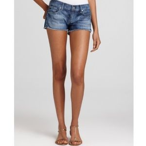 AG DAISY SUPER LOW RISE SHORTS